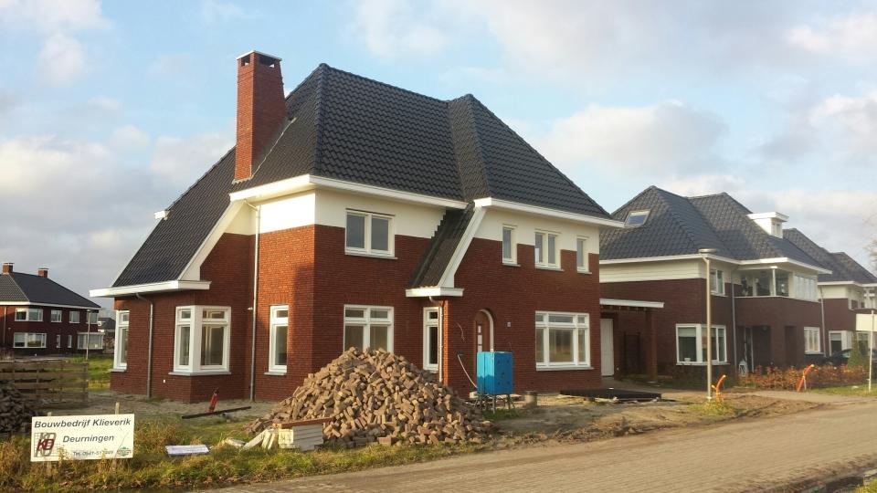 Nieuwbouw woonhuis aan de Morel 64 te Borne
